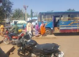 Eine Busreise durch Indien